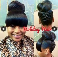 black hairstyles bun with bangs ideas about bun and bangs black hairstyles cute hairstyles for