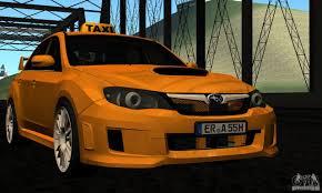 subaru hatchback 2011 subaru impreza wrx sti 2011 taxi for gta san andreas