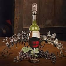 wine bottle stopper display rack stopper stand or holder holds