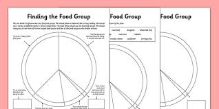 finding the food group worksheets food groups food groups