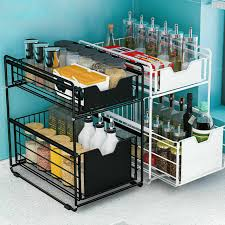 kitchen cabinet pull out storage racks office kitchen cabinet drawer organizer slides pull out storage rack shelf