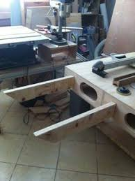 the paulk miter stand built by taylor workbench tools