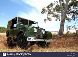 land rover australian 1952 land rover series 1 4x4 off roader in the australian bush