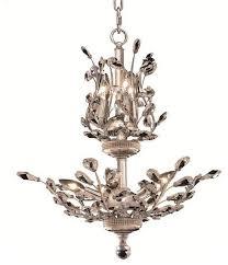 Elegant Lighting Chandelier Elegant Lighting Orchid Chandelier Chrome Traditional