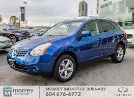 nissan rogue fully loaded 2008 nissan rogue sl fwd auto no accident sunroof and more used