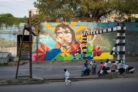 bangalore gets a street art makeover aravani art project s naavu idhevi we exist