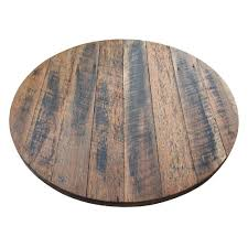 36 round reclaimed wood table top starrkingschool