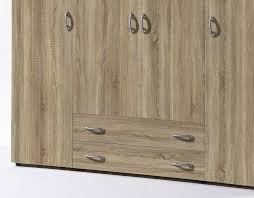 Schlafzimmerschrank Buche Nachbildung Stella Trading Base 2 Türiger Kleiderschrank Holz Buche 52 X 80