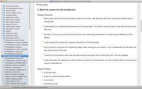 writeexpress 4001 letters on the mac app store