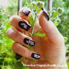 how to apply 3d nail art stickers nail art ideas