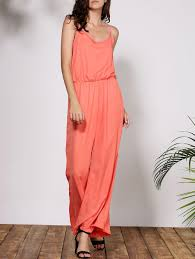 stylish jumpsuits 2018 stylish solid color spaghetti s baggy jumpsuit