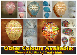 Chandelier Lamp Shades With Beads Crystal Chandelier Inspired Glass Bead Lightbulb Gls Bulb Cover
