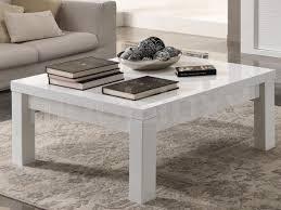 table basse carrée blanc laque chez mobistoxx