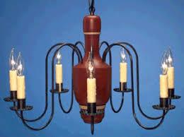 Wooden Chandelier Lighting Colonial Wooden Chandeliers New England Handmade