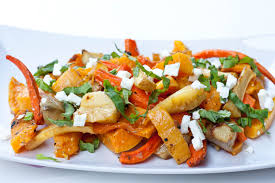 Roasted Vegetable Recipes by Roasted Vegetables Recipe With Basil And Feta Gluten Free