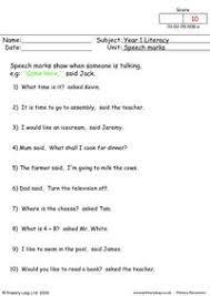 primaryleap co uk speech marks 2 worksheet