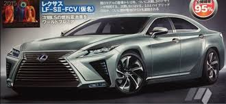 future cars brutish new lexus tokyo motor show revealed is this the all new lexus ls seen for