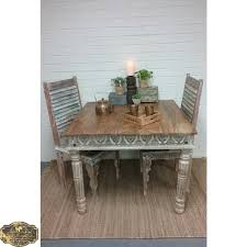 top shabby chic dining table 4 seat