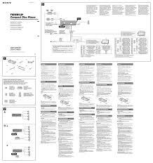 sony wiring diagram within cdx l550x wordoflife me