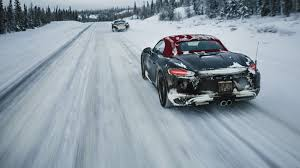 Porsche 911 In Snow - new porsche 718 boxster first ride preview 7 things we learned