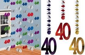 40th birthday decorations 40th birthday party supplies partyrama