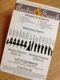 cool wedding programs diy wedding ceremony programs www homesweetlifeblog guess