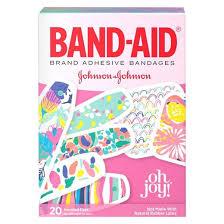 band aid oh joy adhesive bandages 20 count target