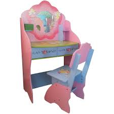 Girls Vanity Table And Stool Popular Of Kid Vanity Table And Chair With Daisy Vanity Table