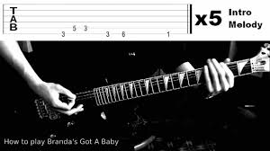 Hit The Floor Bass Tab - how to play brenda u0027s got a baby 2pac on guitar tabs
