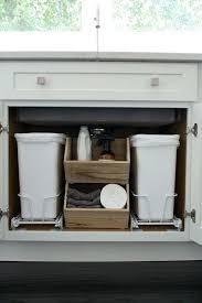 garbage can under the sink under kitchen sink trash can kitchen sink waste disposal