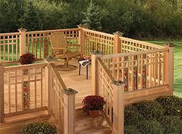 large selection of cedar decking in waterloo region