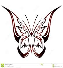 butterfly tattoo design stock images image 8834964