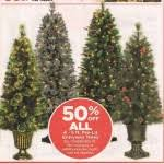 50 celebrate it 4 5 ft pre lit entryway trees at