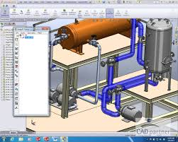 add insulation to 3d pipes with smap3d plant design in solidworks