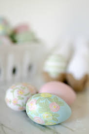 faux easter eggs beautiful and simple painted easter eggs home stories a to z