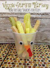 turkey veggie straw snack fast and eeasy healthy snack for