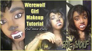 werewolf makeup tutorial halloween costumes pinterest