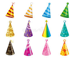 party hats party hats stock vector illustration of symbol entertainment