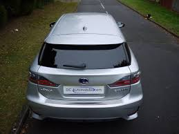 lexus silver used satin silver metallic lexus ct 200h for sale surrey