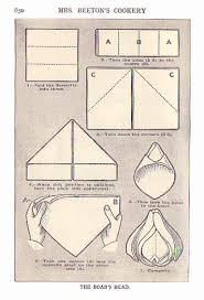 how to make table napkins napkin folding techniques food history fashion and fads napkin
