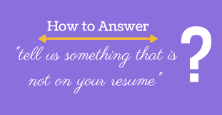 Walk Me Through Your Resume Sample by How To Answer