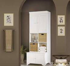 Traditional Tall Bathroom Cabinets Design Home Design Lover - Cabinet designs for bathrooms