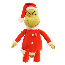Singing Stuffed Animals Dr Seuss How The Grinch Store 16 Inch Singing Stuffed