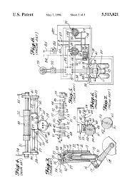 patent us5513821 aircraft steering system and method for large