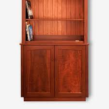 Two Door Cabinet Hutch Two Door Jarrah Cabinet With Open Shelves Treeton