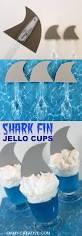shark fin jello cups oh my creative