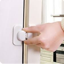 Cabinet Door Locks Latches Cabinet Door Drawer Safty Cotton Lock Door Latch Pad Cover Cushion