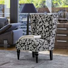 Outdoor Wingback Chair Wingback Chairs Black Living Room Chairs Shop The Best Deals