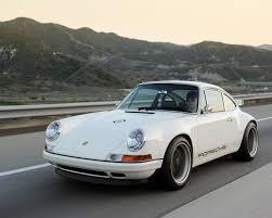Porsche 911 White - 2011 singer porsche 911 white