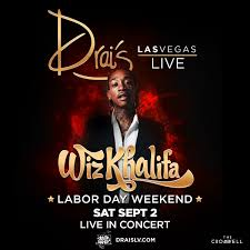 wiz khalifa labor day weekend at drais nightclub saturday sep